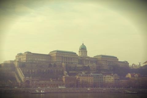Buda Castle Mid December