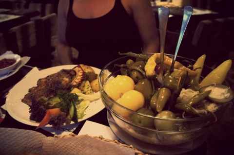 Aida's Side salad