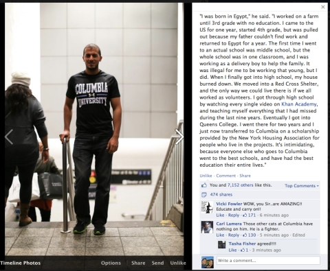 An extremely inspiring and inspirational HONY post