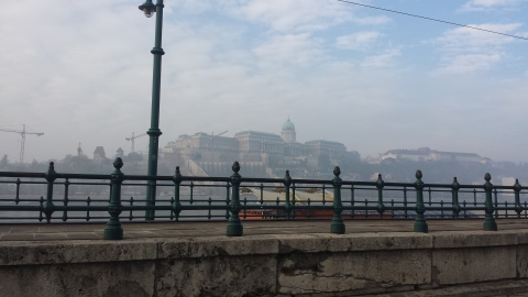 Sunday morning in Budapest! Skjalg and I went for a walk and then grabbed breakfast at Starbucks and ate down by the river. Have to make time to enjoy the small things in life :)
