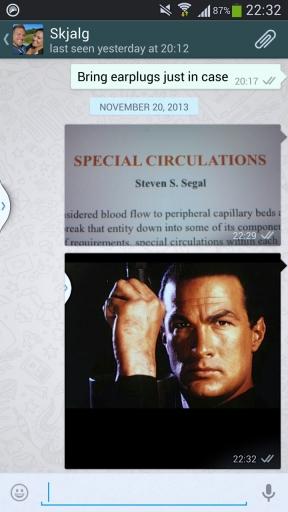 Steven Se(a)gal - Special circulations