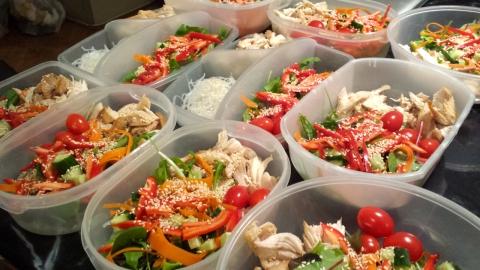 Food prep: check!