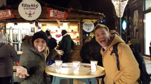 After our physio lecture on Friday night, Jannie, Skjalg and I stopped for some mulled wine. It was nice to escape for a little while and talk about what an amazing experience it is to study here.