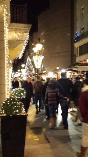 The Christmas markets have finally opened in Budapest. I am so excited because we live right next to them and will get to walk by them everyday :D