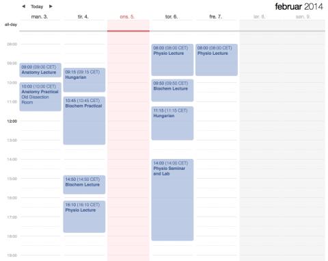 Schedule4thSem
