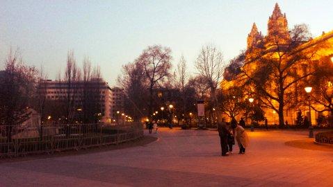 park dusk