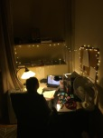 Christmas lights to make me enjoy studying more?