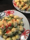 Lemon parmesan gnocchi a la Marianne and Bianca