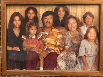 My family! My mom is the gorgeous woman on the far left :D